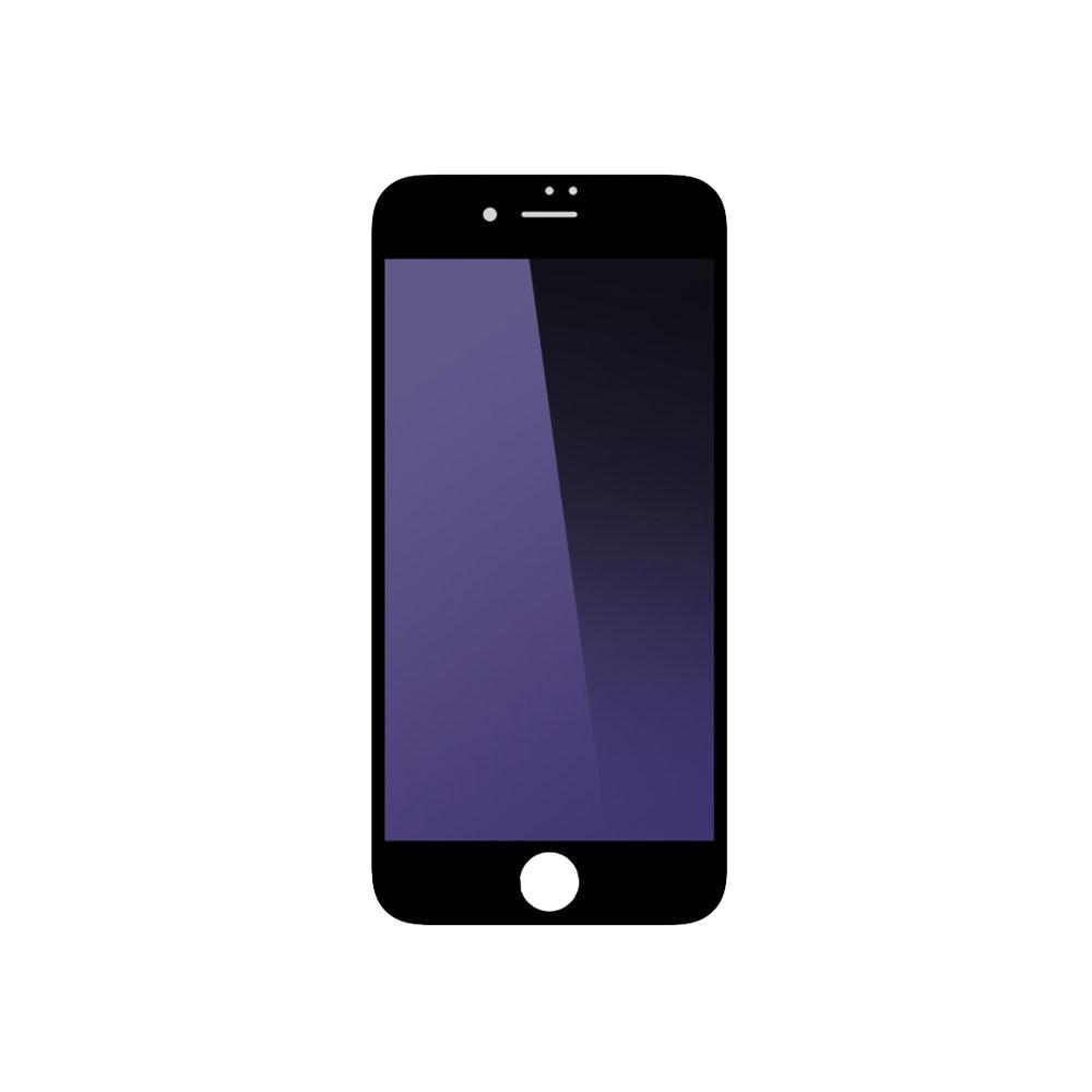 Стъклен протектор за целия дисплей, Remax Gener, Anti-Blu Ray, за iPhone 7/7S, 0.3 mm, Черен - 52255