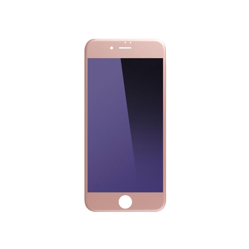 Стъклен протектор за целия дисплей, Remax Gener, Anti-Blu Ray, за iPhone 7/7S, 0.3mm, Розов - 52257