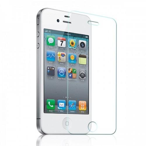 Стъклен протектор No brand Tempered Glass за iPhone 4/4S, 0.3 mm, Прозрачен - 52025