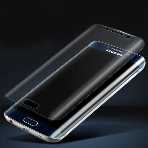 Протектор дисплей No brand за Samsung S6 Edge Plus, Силикон, Прозрачен - 52143