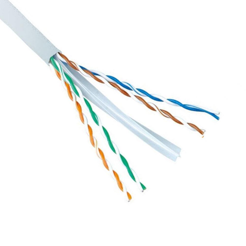 Кабел No brand Network UTP CAT6, Син, С медно жило, 305m - 18410