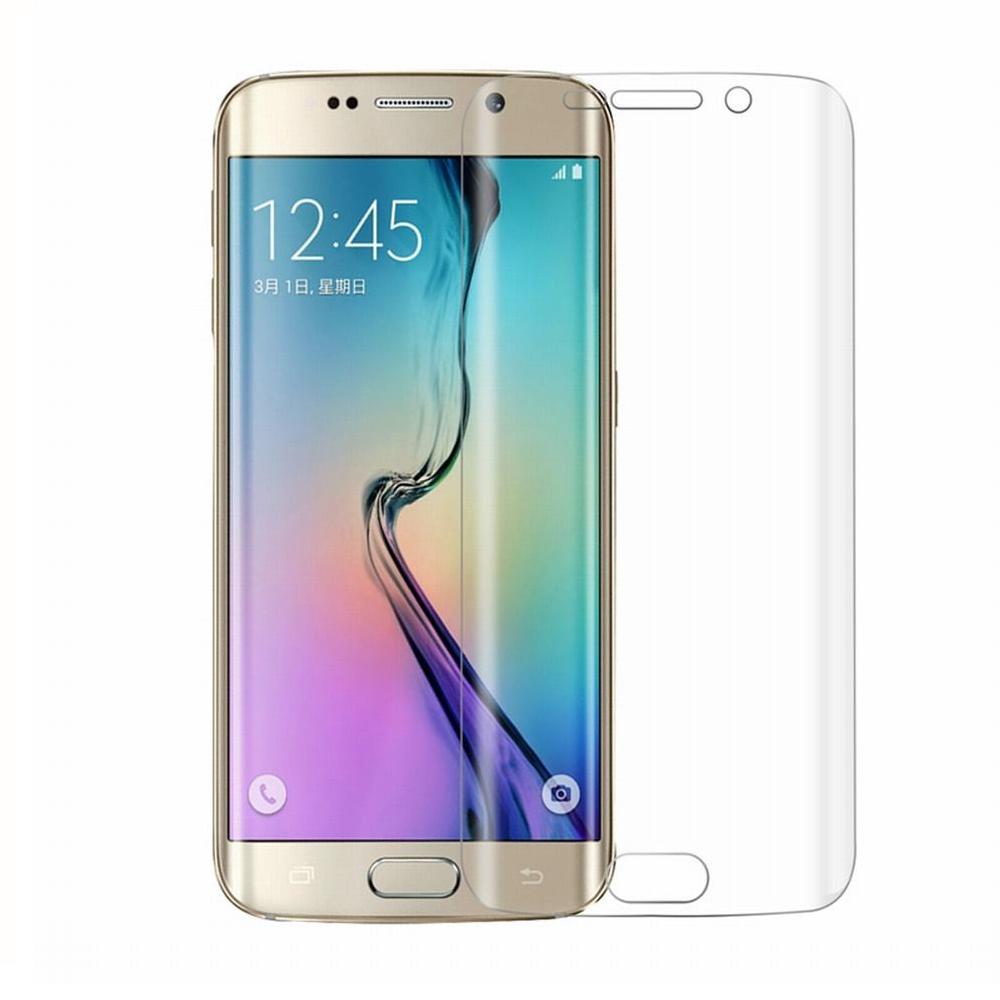 Стъклен протектор за целия екран, No brand, За Samsung Galaxy S7 Edge, 0.3mm, Прозрачен - 52282