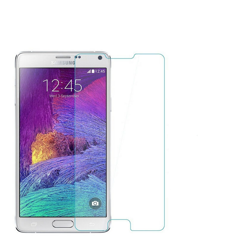 Стъклен протектор No brand Tempered Glass за Samsung Galaxy Note 4, 0.3mm, Transperant - 52075
