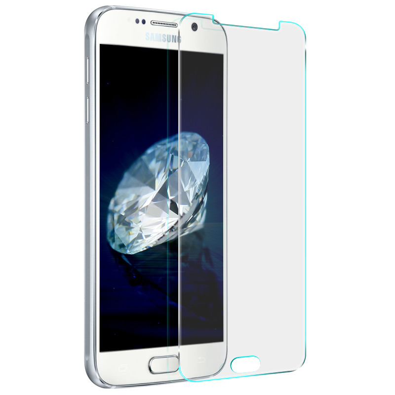 Стъклен протектор No brand  Tempered Glass за Samsung Galaxy A3 2017, 0.3mm, Прозрачен - 52267