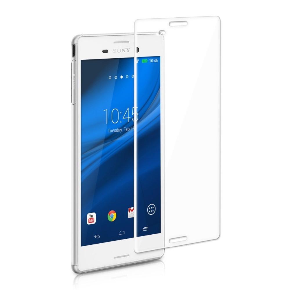 Стъклен протектор No brand Tempered Glass за Sony Xperia M4, 0.3mm, Прозрачен - 52108