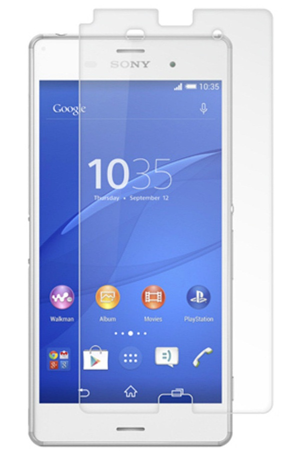 Стъклен протектор No brand Tempered Glass за Sony Xperia Z3 mini /compact, 0.3mm, Прозрачен - 52061