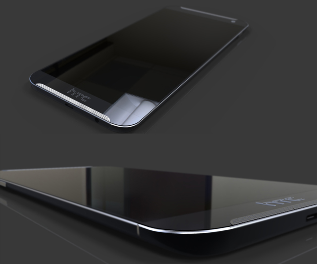 Стъклен протектор No brand Tempered Glass за HTC M8 (One), 0.3mm, Прозрачен - 52064