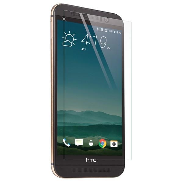 Стъклен протектор No brand Tempered Glass за HTC M9 +(plus), 0.3mm, Прозрачен - 52174