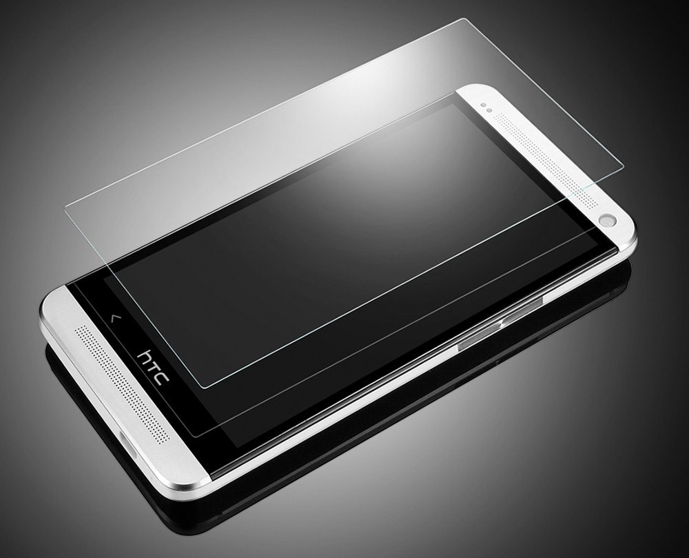 Стъклен протектор No brand Tempered Glass за HTC Desire 610, 0.3mm, Прозрачен - 52103