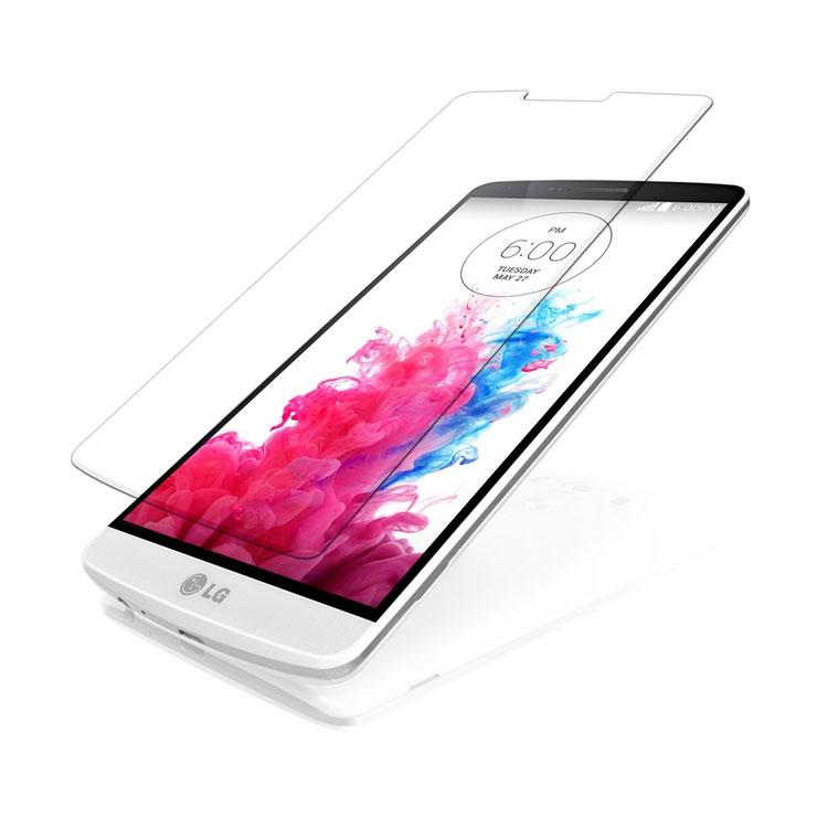 Стъклен протектор No brand Tempered Glass за LG G855 G3, 0.3mm, Прозрачен - 52066