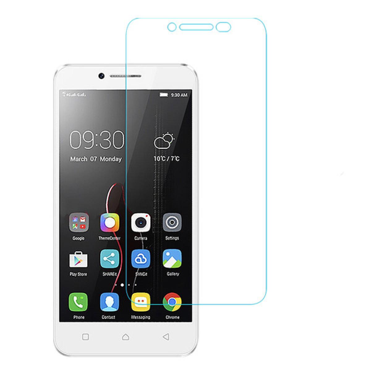 Стъклен протектор No brand Tempered Glass за Lenovo 2020/ Lenovo Vibe C, 0.3mm, Прозрачен - 52200