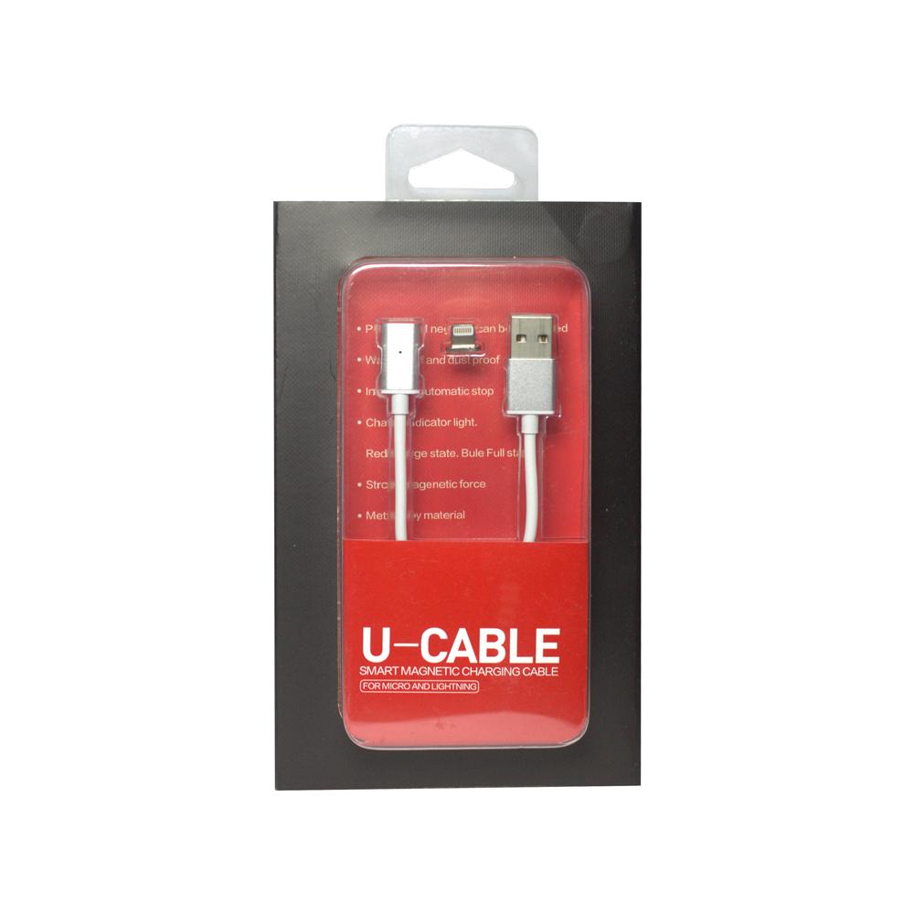 Магнитен кабел за данни, No Brand, Iphone 5/6/7 Lightning, 1.2м - 14405