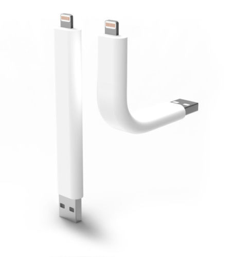 Кабел за данни No brand Lightning - USB, iPhone 5/5s: 6,6S / 6plus,6S plus, Гъвкав - 14217
