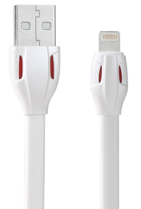 Кабел за данни iPhone Lighitng, Remax Laser RC-035i , 1м, Бял - 14343