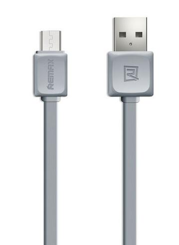 Кабел за данни micro USB, Remax, 1м, Бял - 14359