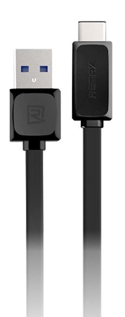 Кабел за данни USB 3.1 Type - C, Remax RT-C1, 1м, Черен, Бял - 14360