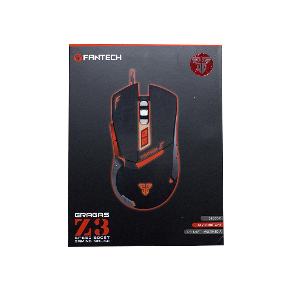 Геймърска мишка FanTech, Оптична Gragas Z3,Червен - 984