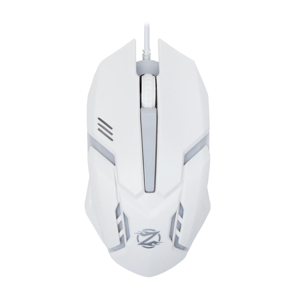 Геймърска мишка, ZornWee Revival GM-02, Оптична, Бял - 999
