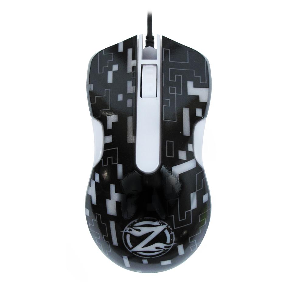 Геймърска мишка, ZornWee WindRunner XG75, Оптична, Черен - 611