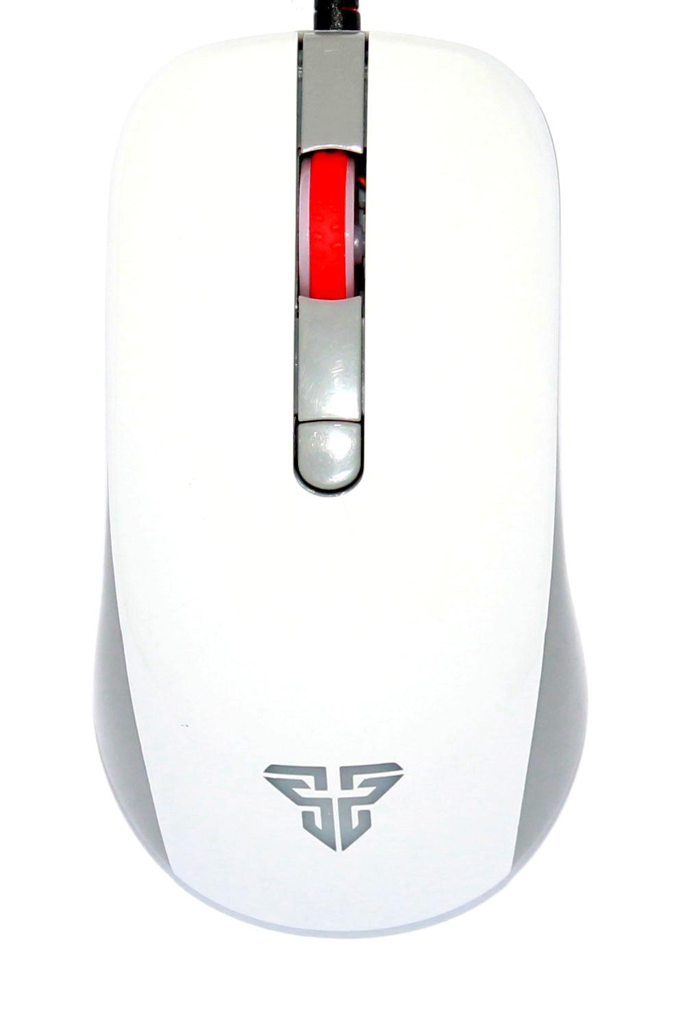 Геймърска мишка FanTech, Оптична G10, Бял - 980