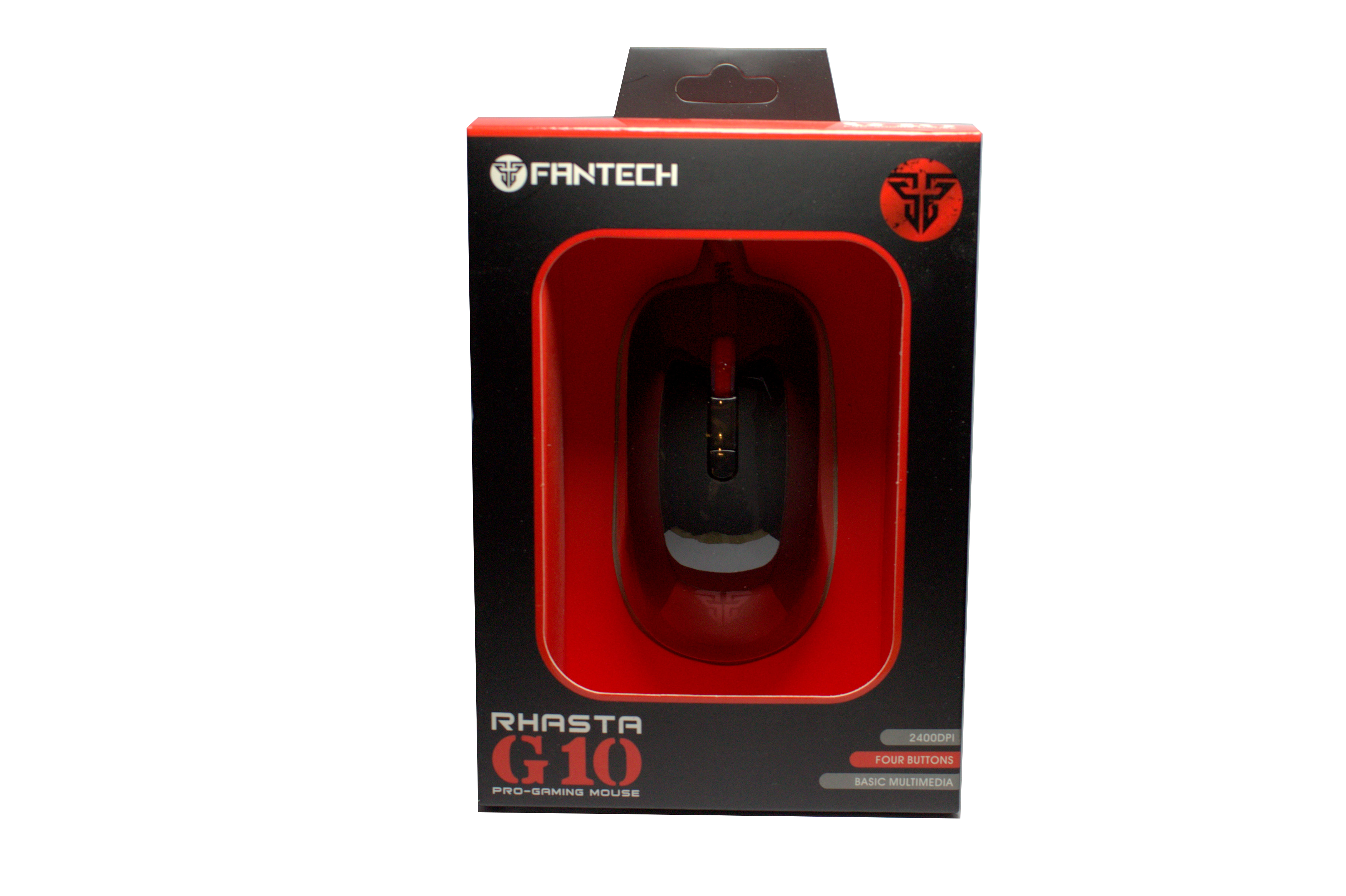 Геймърска мишка FanTech, Оптична G10, Черен- 942