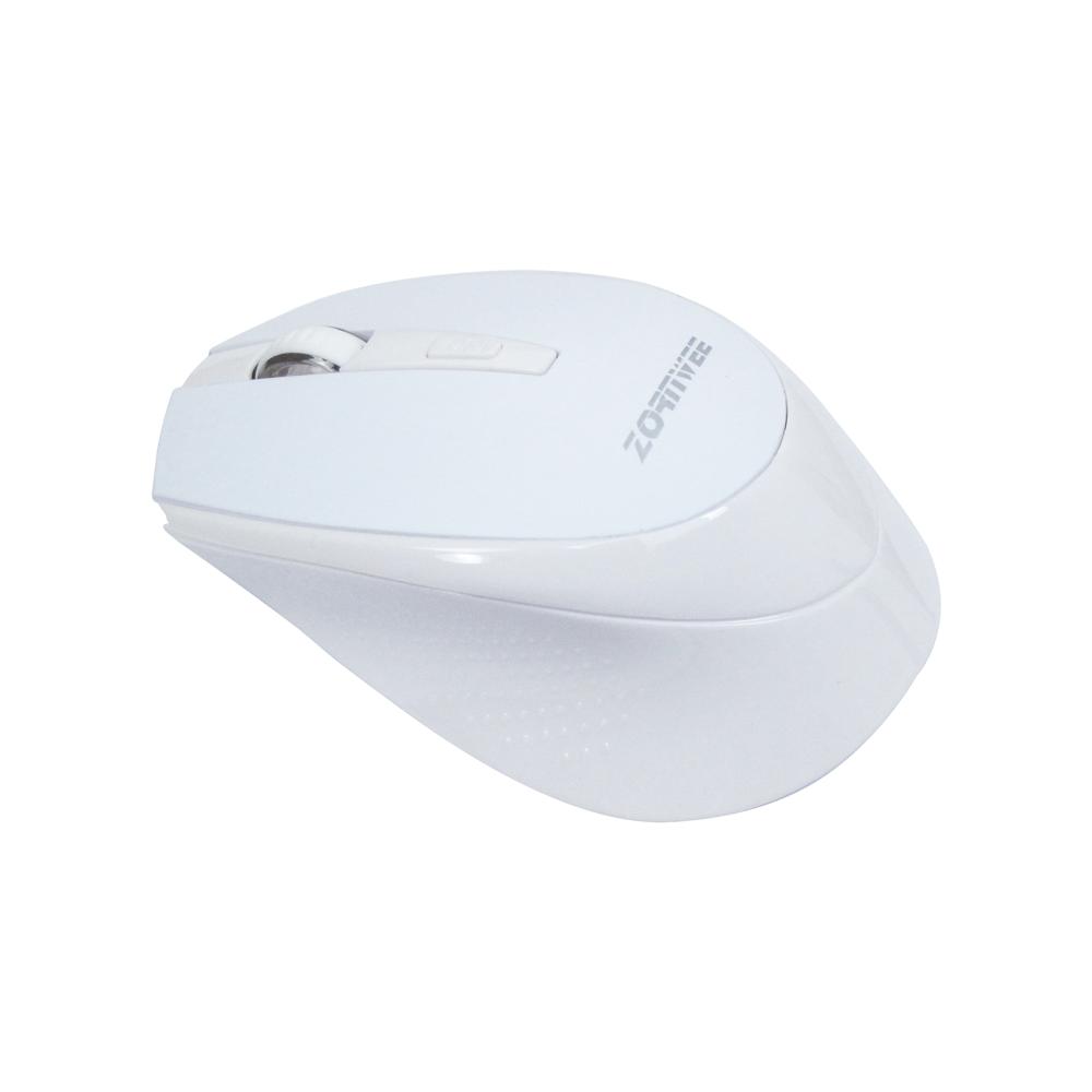 Мишка, ZornWee W220, Безжична, Бял - 616