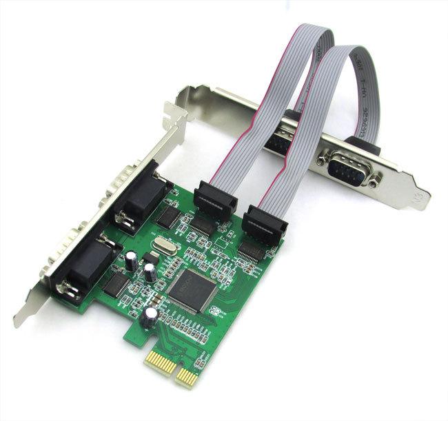 Платка PCI-E към 4 Serial port No Brand -17473