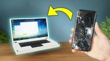 Изваждане на информация от счупен телефон