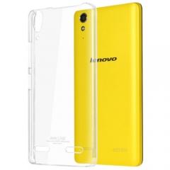 Протектор No brand за Lenovo A6000, Пластмаса, Кристално прозрачен - 51361