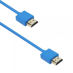 Кабел DeTech HDMI - HDMI M/M, 1,5m, Син - 18135