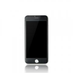 Стъклен протектор за целия дисплей, Remax Prime, за iPhone 6/6S,Ултра тънък 0.15 mm, Черен - 52219