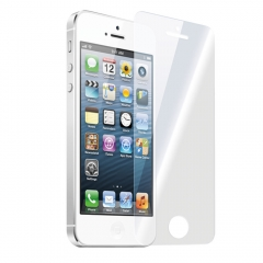 Стъклен протектор No brand Tempered Glass за iPhone 5/5S, 0.3 mm, Прозрачен - 52026