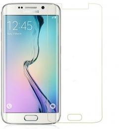 Стъклен протектор No brand Tempered Glass за Samsung Galaxy S6 Edge, 0.3mm, Прозрачен - 52074