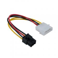 Захранващ кабел P6, DeTech - 18051