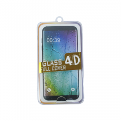 Стъклен протектор за целия дисплей, No Brand, за Samsung Galaxy S7, 0.3mm, Бял - 52299