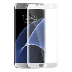 Стъклен протектор за целия екран, No brand, За Samsung Galaxy S7 Edge, 0.3mm, Бял - 52283