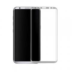 Стъклен протектор за целия екран, No brand, За Samsung Galaxy S8 Plus, 0.3mm, Сребрист - 52296