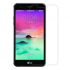 Стъклен протектор No brand, За LG К10 2017, 0.3mm, Прозрачен - 52279