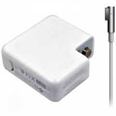 Адаптер DeTech за Apple 85W 18.5V/4.65A magnetic 5 pin 2 pin, Бял - 279