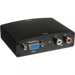 Преходник VGA to HDMI, Черен - 18162