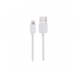 Кабел за данни  iPhone Lighting, Remax RC-006i, 1м, Бял - 14356
