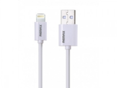 Кабел за данни iPhone Lighting, Remax RC-006I, 2м, Бял - 14355