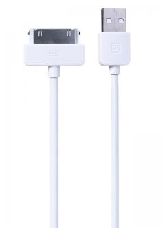 Кабел за данни iPhone 4/Ipad, Remax RC-006i4, 1м, Бял - 14357