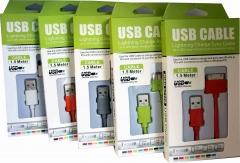 Кабел за данни USB  iPhone 4/4S , iPAD, 1м  - 14227