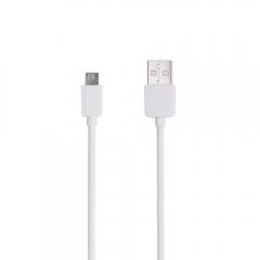 Кабел за данни, Remax Light RC-006m, Micro USB, 1.0м, Бял - 14822