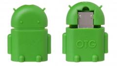 Преходник USB F - micro USB, OTG  - 14236