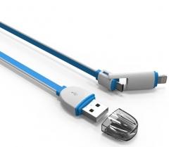 Кабел за данни Ldnio  LC82 2 в 1, micro USB с кабел за iPhone 5/6 - 14305