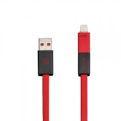 Кабел за данни, 2 в 1 , Remax Shadow, Micro USB / iPhone 5/6/7 Lightning, Различни цветове -  14425
