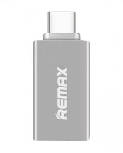 Преходник USB 3.0 към Type-C OTG, Remax RA-OTG1,сребрист - 17160