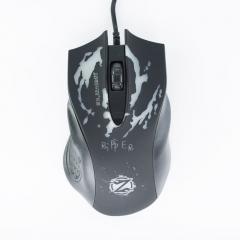 Геймърска мишка, ZornWee Ripper, Оптична, Черен - 963